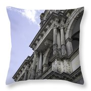 Up To The Left Throw Pillow