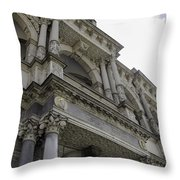 Up To The Right Throw Pillow