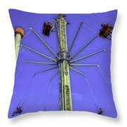 Up Up And Away 2013 - Coney Island - Brooklyn - New York Throw Pillow