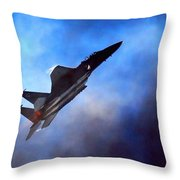 Up Up N Away  Throw Pillow