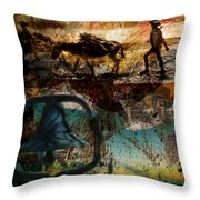 Up With The Sun Throw Pillow