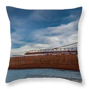 Upbound At Mission Point 2 Throw Pillow