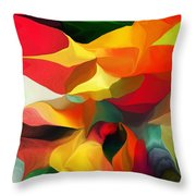 Uplifting Psychically  Throw Pillow