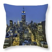 Upon A Restless Night Throw Pillow