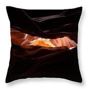 Upper Antelope Canyon 9 Throw Pillow