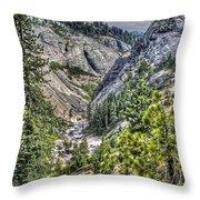 Upper Bear River Valley Throw Pillow