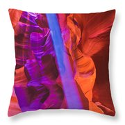 Upper Canyon 20 Throw Pillow