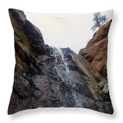 Upper Dorothy Falls 2 Throw Pillow
