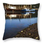Upper Salmon River Throw Pillow