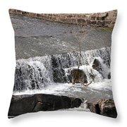 Upper Spillway Throw Pillow