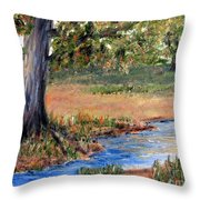Upper Valley Throw Pillow
