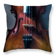 Upright Violin - Cool Throw Pillow