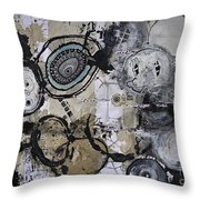 Upside Down And Inside Out Throw Pillow