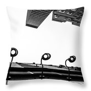 Upside Of Lexington Throw Pillow