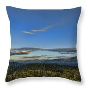 Upslope Flow Throw Pillow