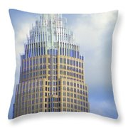 Uptown Charlotte 1 Throw Pillow by Randall Weidner
