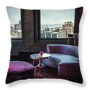 Uptown Groove Throw Pillow