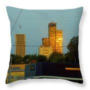 Uptown View Throw Pillow
