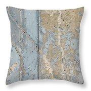 Urban Abstract Concrete 3 Throw Pillow