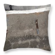 Urban Abstract Construction 4 Throw Pillow