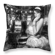 Urban Angel 5.0 Throw Pillow