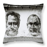 Urban Art In Cochin Throw Pillow