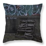 Urban Artistry One Throw Pillow