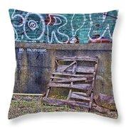 Urban Artistry Two Throw Pillow