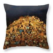 Urban Cross 1 Throw Pillow
