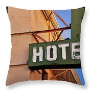 Urban Decay In Hollywood Throw Pillow