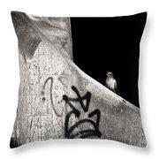 Urban Dweller Throw Pillow