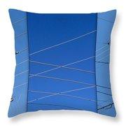 Urban Electric Throw Pillow