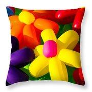 Urban Flowers - Featured 3 Throw Pillow by Alexander Senin