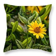 Urban Jungle Throw Pillow