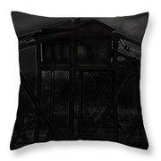 Urban Metal Throw Pillow