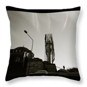 Urban Mosque Throw Pillow