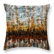 Urban Omega Throw Pillow