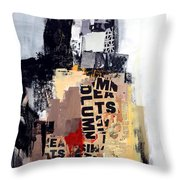 Urban Renewal Throw Pillow