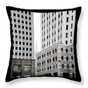 Urban San Francisco Throw Pillow