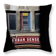 Urban Sense 1 Throw Pillow