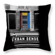 Urban Sense 1c Throw Pillow