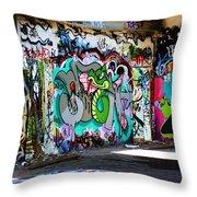 Urban Serpent Throw Pillow