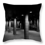 Urban Silence.. Throw Pillow