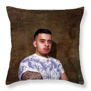 Urban Tattoos Throw Pillow