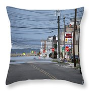 Urban Unengineering Throw Pillow