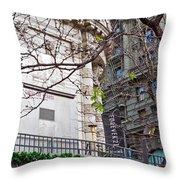 Urban View Throw Pillow