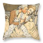 Urgent Love Throw Pillow