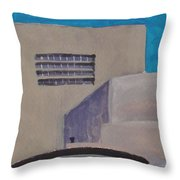 Urn On The Guggenheim Throw Pillow