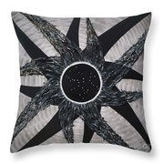 Ursa Major Iris Constellation Throw Pillow