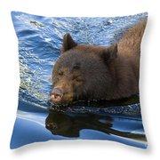 Ursa Mirrored Throw Pillow